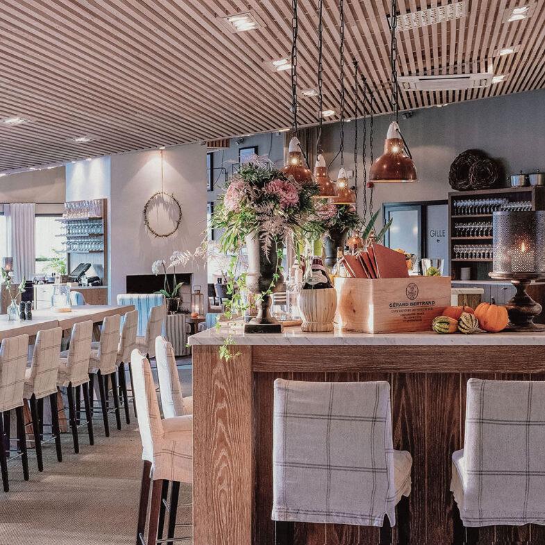 Bar i restaurang Bistron