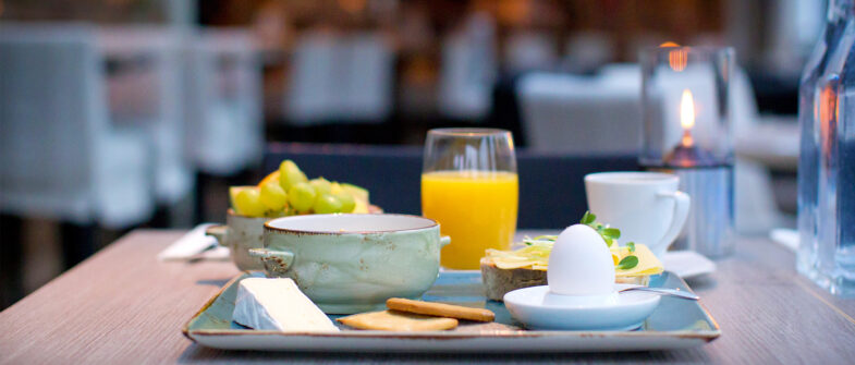 Frukost på Torekov Hotell